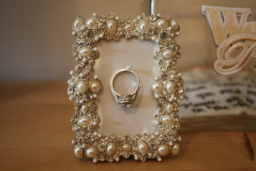 Wedding Ring Frame Hanger