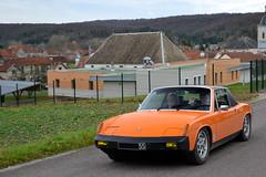 Porsche 914 - Photo of Signéville