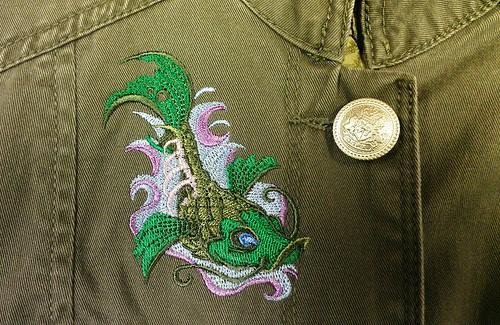 Zombie Koi-Jacket front