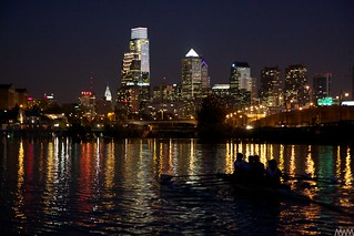 Night Rowing In Philly
