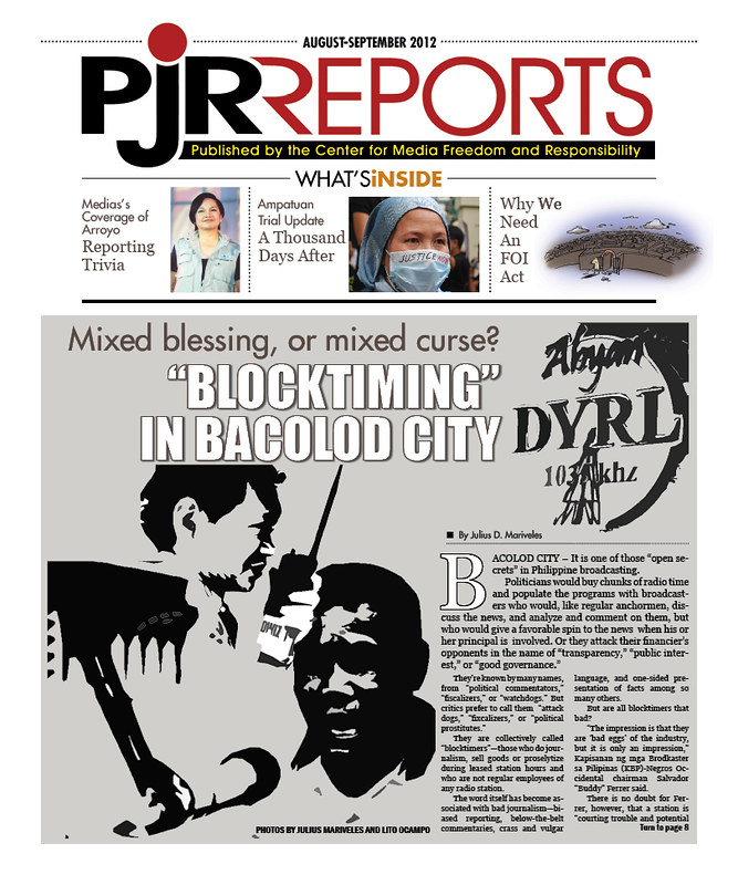 PJR Reports August-September 2012