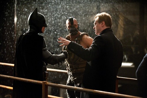 The Dark Knight Rises - Photo de Tournage