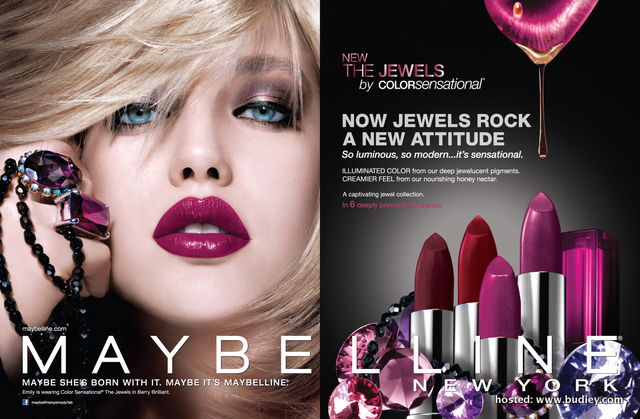 Maybelline New York Introduces Its Rocking Range Of Jewel Lipsticks