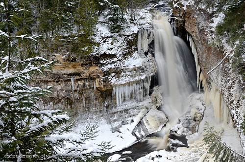 Winter at Miners Falls