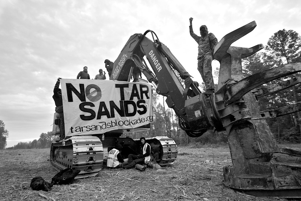 Tar Sand blockade