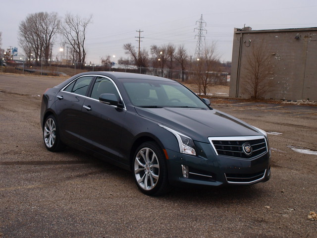 2013 Cadillac ATS 2.0T AWD Premium 2