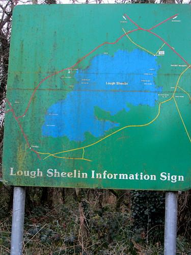 Lough Sheelin Information Sign