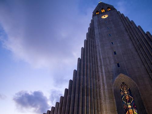 [フリー画像素材] 建築物・町並み, 宗教施設, 教会・聖堂, キリスト教, ハットルグリムス教会, 風景 - アイスランド ID:201212042000