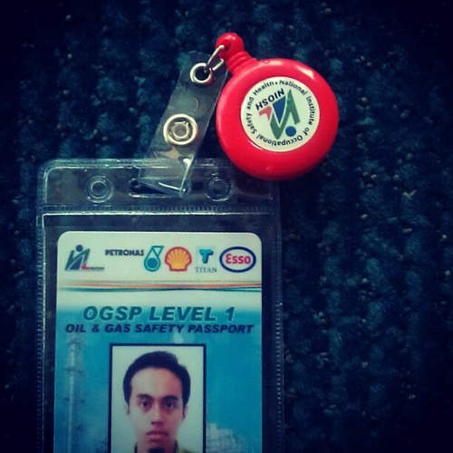 Safety passport, OGSP Level 1. #OnG #work