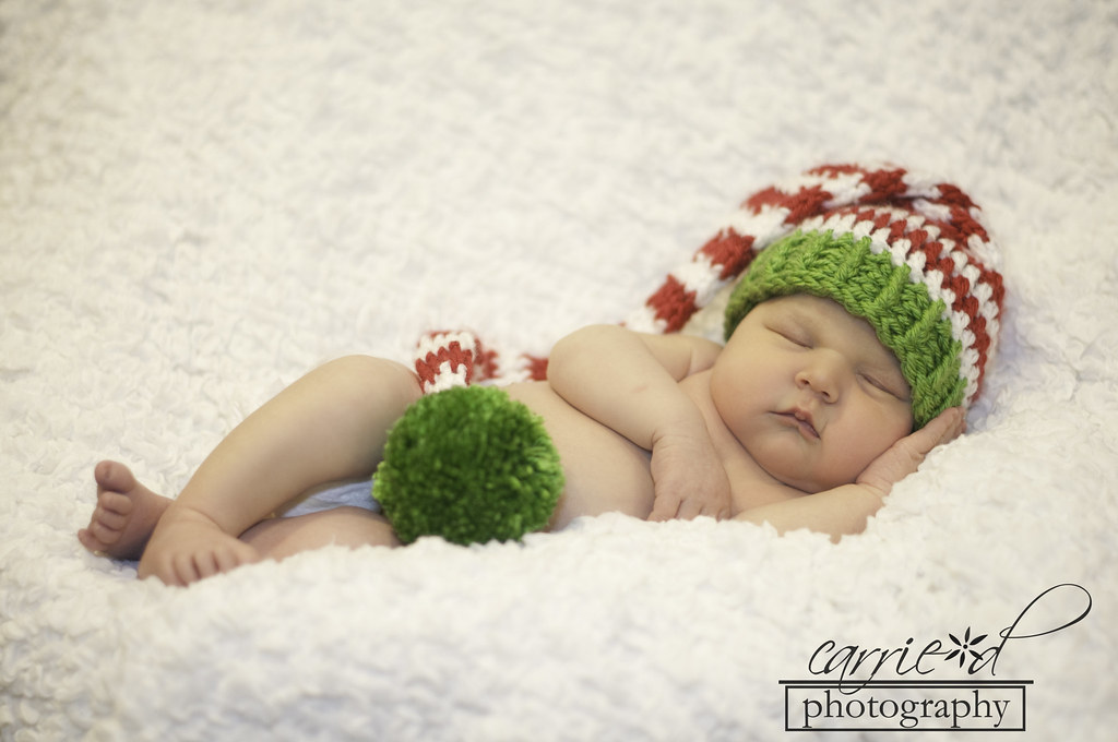 Maryland Newborn Photographer - Newborn Photography - Harford County Photographer - Newborn Santa Hat - Grant Chapman 11-16-2012 (61 of 159)