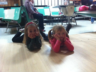 Bowling with Keira