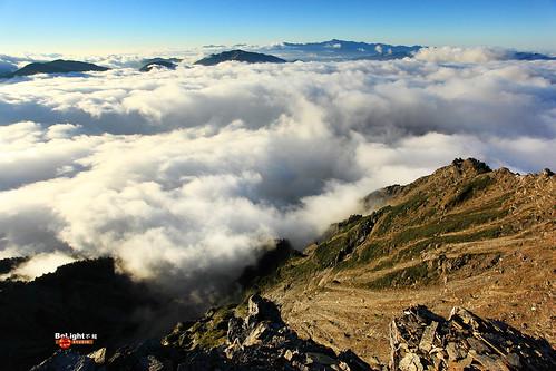 奇萊北峰 雲海