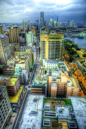 From Yokohama Marine Tower