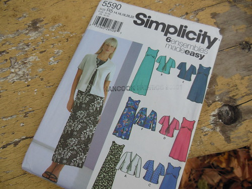 Simplicity 5590 by becky b.'s sew & tell