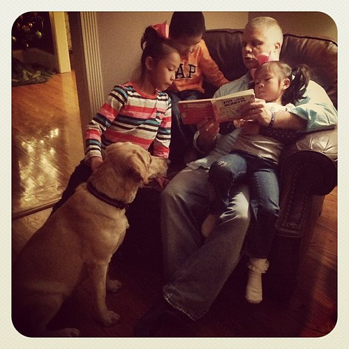 Story time with Dad #sadielovesit by Sharon Ankerich