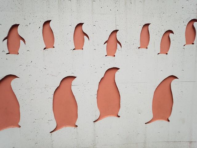 ペンギンウォール