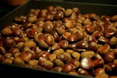 vegetable(0.0), plant(0.0), fruit(0.0), crop(0.0), chestnut(1.0), nuts & seeds(1.0), hazelnut(1.0), produce(1.0), food(1.0),