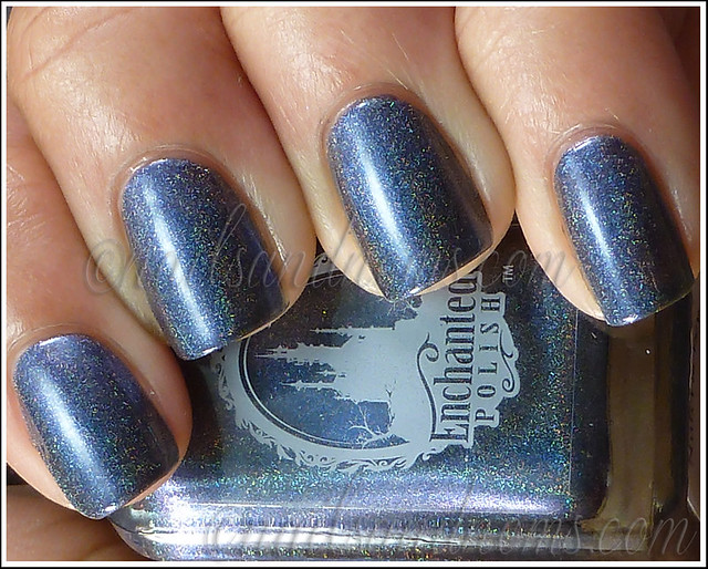 Enchanted Polish Ho Ho Holoday - Bruised Nutcracker 1