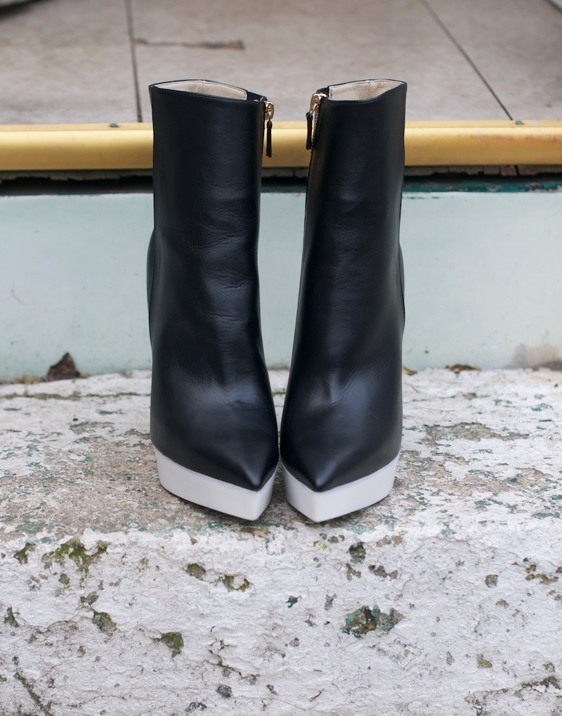 stella mccartney rubber platform boots