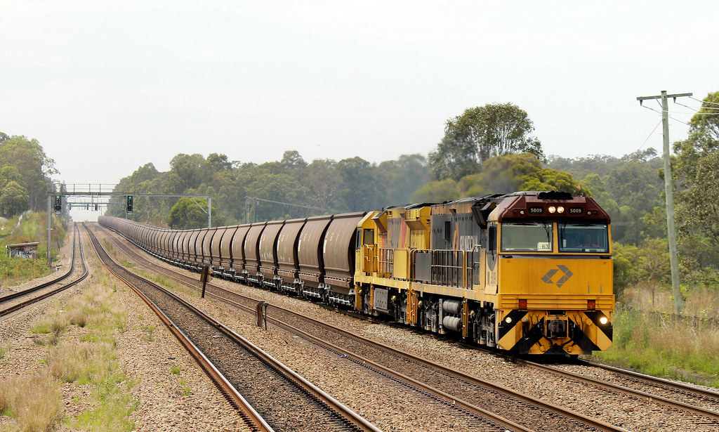 QR Coal Train by S312 Photography