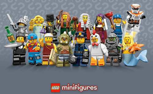 LEGO Collectible Minifigures Series 9 - 71000