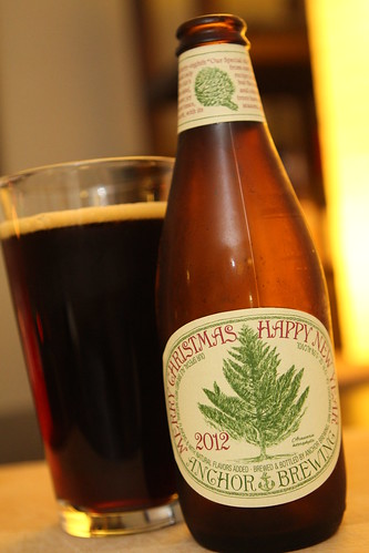 Anchor Brewing 2012 Christmas Ale