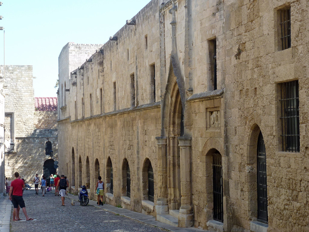 Rhodes Old Town-street of Knights