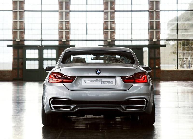 BMW 4 SERIES REAR EXHAUST