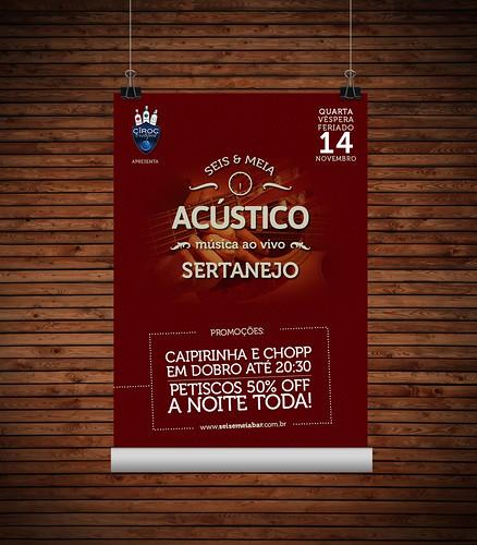 Poster - Quarta Seis & Meia by chambe.com.br