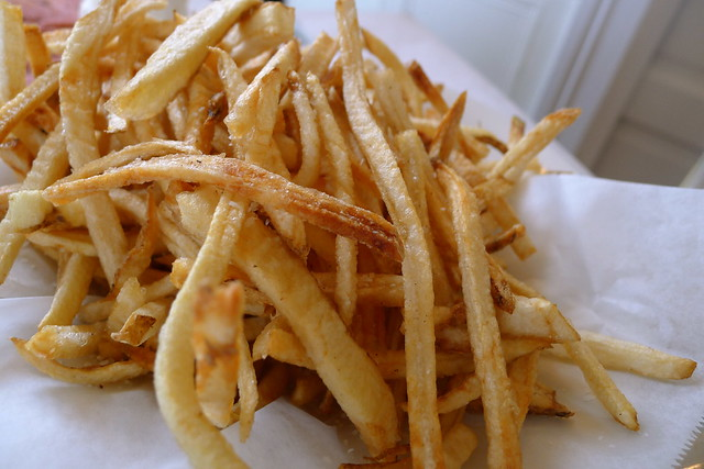 crispy thin fries