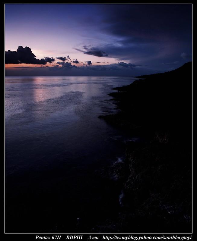恆春西海岸-夕陽剪影之美