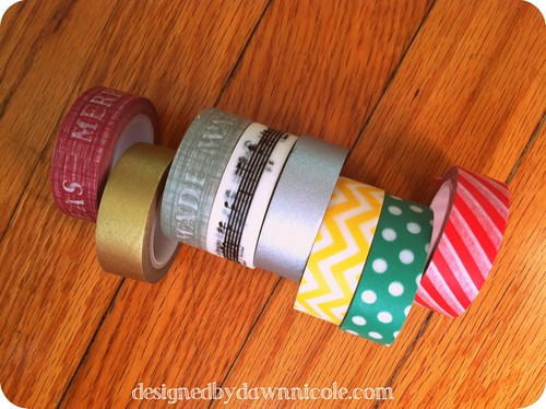 DIY Washi Tape Gift Tags (Super cute and super simple!)
