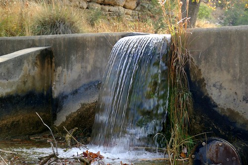 View of dam on creek