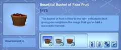 Bountiful Bushel of Fake Fruit