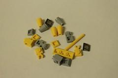 LEGO Star Wars 2012 Advent Calendar (9509) - Day 7: Naboo Starfighter