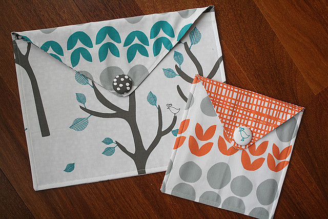 Fancy Fabric Envelope