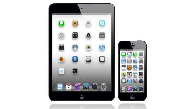 iOSデバイスアイコン配置