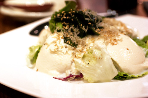 tofu salad @ ootoya