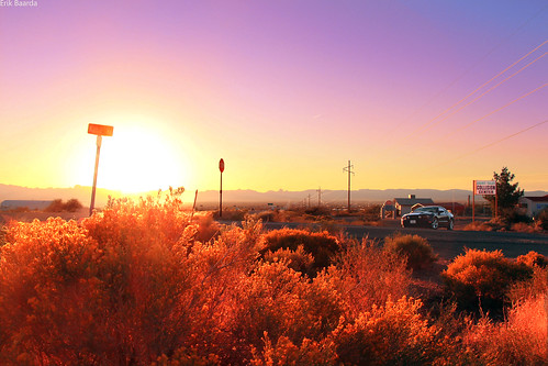 Sunset Mustang by Erik B Photography