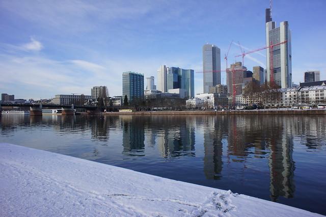 Frankfurt Am Main Snow Flickr Photo Sharing