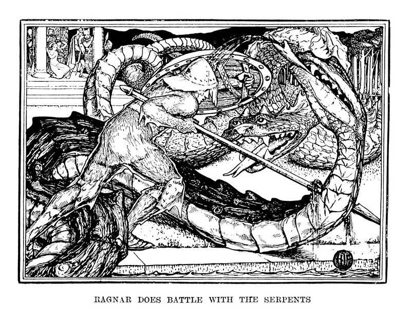 Henry Justice Ford - The red book of animal stories selected and edited by Andrew Lang, 1899 (illustration 4)