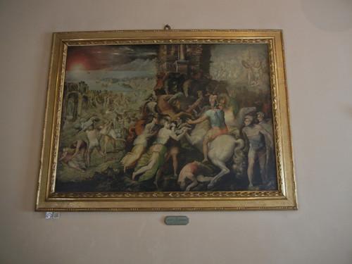 DSCN4696 _ Ratto delle Sabine (Rape of the Sabine), Giacomo Zanchi Berloni, Palazzo D'Accursio (Palazzo Comunale), Bologna, 18 October