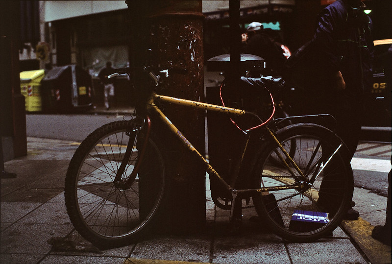 Reliable Old Steed (in Fujichrome Provia 400X)