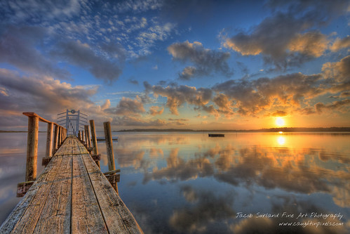 morning summer water clouds sunrise reflections landscape denmark boat jetty fineart raft fiord hdr highdynamicrange roskilde warmlight fineartphotography landskab calmwater smoothwater caughtinpixels jacobsurland