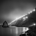Golden Gate Bridge In Fog, San Francisco, California by Sebastian (sibbiblue)