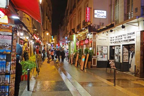 La rue de la Huchette (Paris)