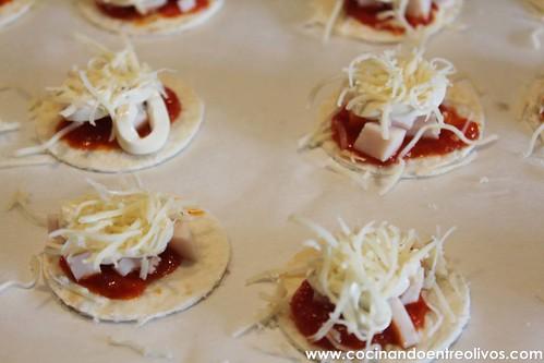 Minipizzas crujientes con queso cocina President (13)