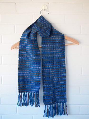 First Weaving Project - Scarf