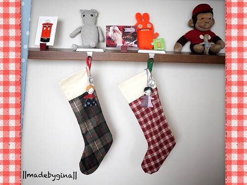 Christmas stockings for me & Lucy