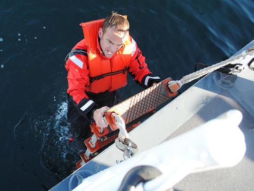 U.S. Coast Guard Chief Petty Officer Terrell Horne III